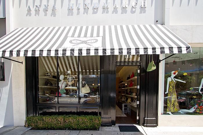 Anya Hindmarch Robertson Boulevard Shopping Dining