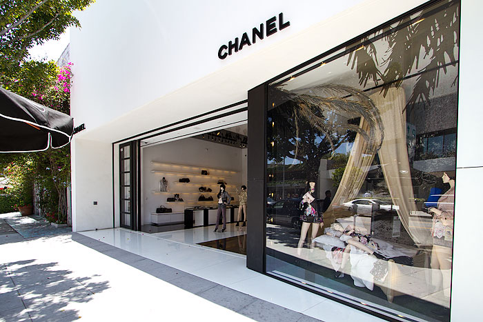 Chanel Robertson Boulevard Shopping Dining Amp Travel