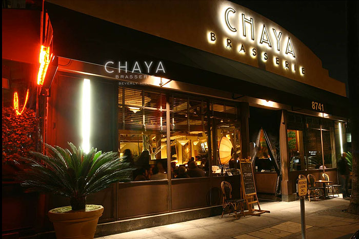 Chaya Brasserie Robertson Boulevard Shopping Dining Amp Travel Guide For Los Angeles California
