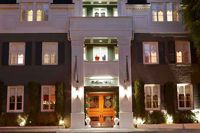Maison 140 hotel robertson boulevard shopping dining travel guide fo - Maison a los angeles ...