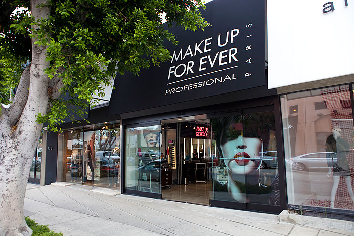 Make Up For Ever Robertson Boulevard Shopping Dining